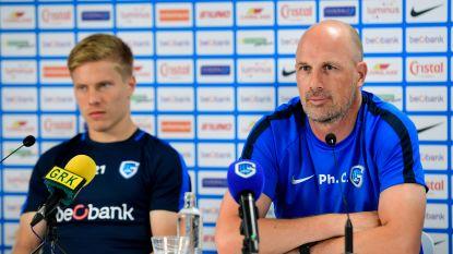 """Philippe Clement op zijn hoede voor Poznan: """"Geen domme wedstrijd spelen"""""""