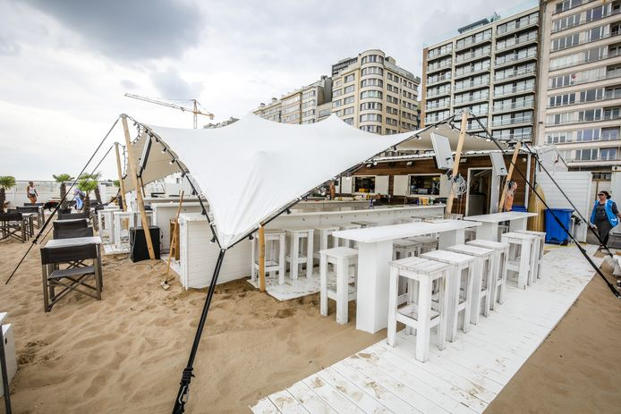Bondi Beach in Oostende.