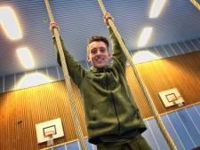 Gymdocent Mark Bubberman doet mee in de strijd om Robinson