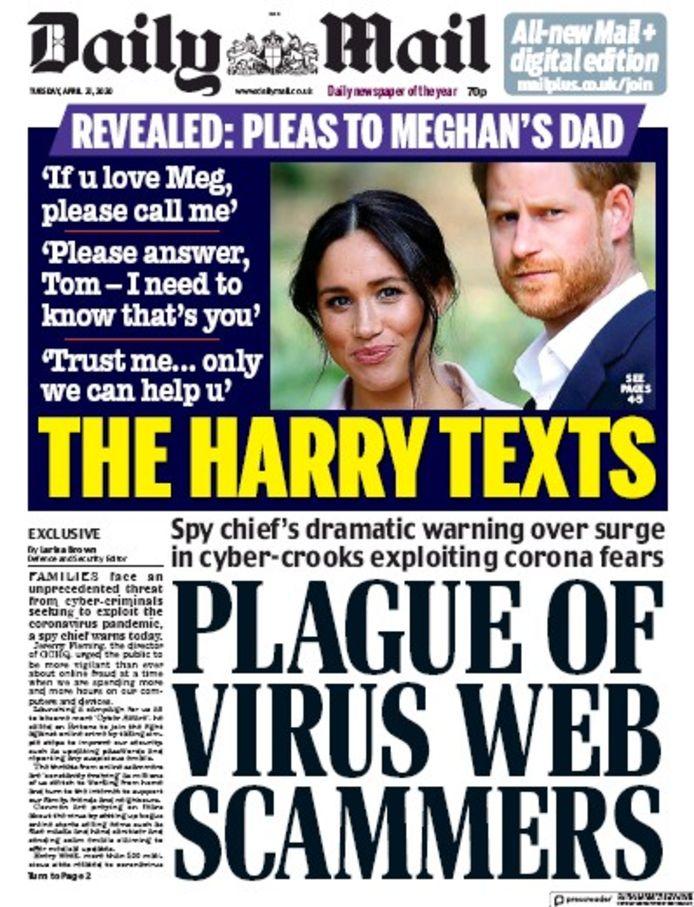 De tabloids nemen geen gas terug.