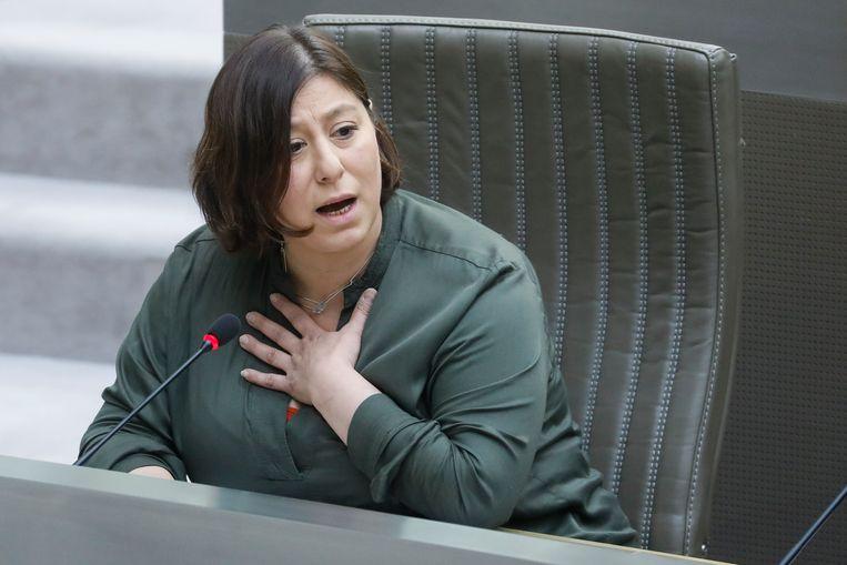 Groen-voorzitter Meyrem Almaci.