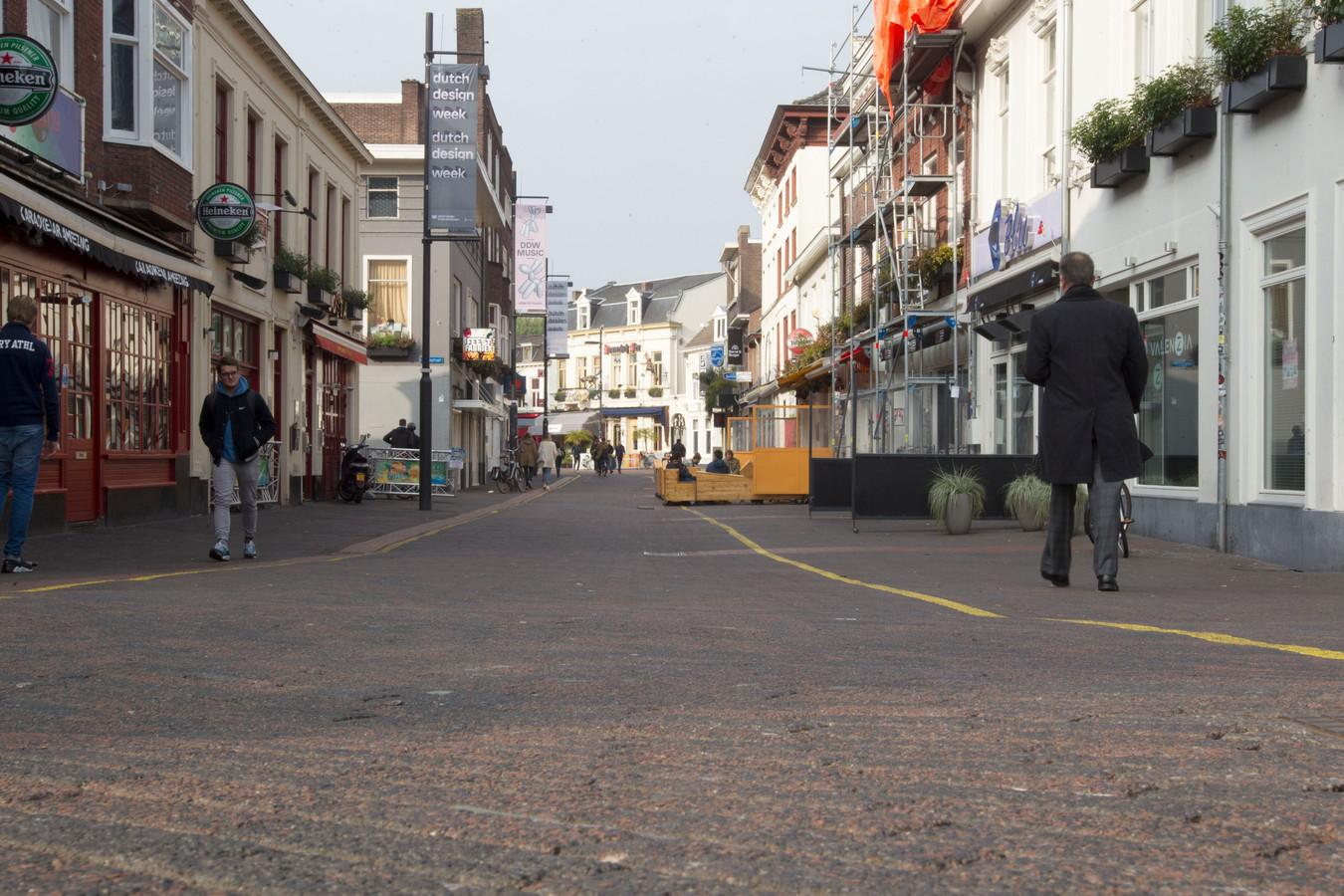 Foto ter illustratie: Stratumseind in Eindhoven.