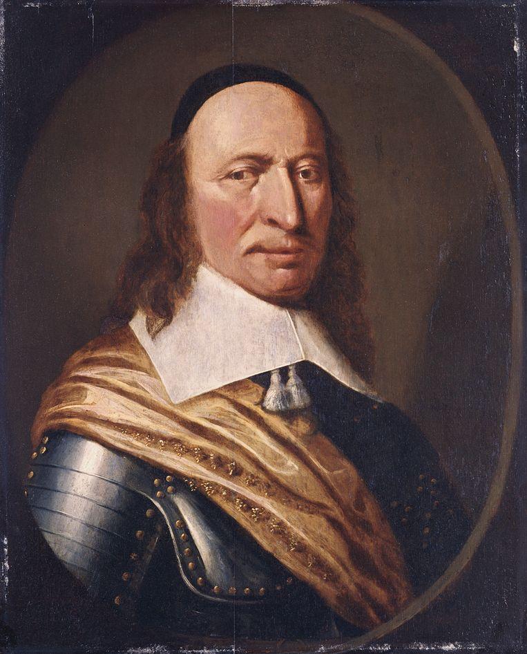 Peter Stuyvesant (1611/1612-1672). Beeld Corbis via Getty Images