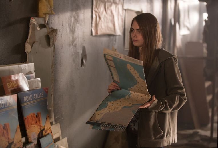 Cara Delevingne als Margo in de film 'Paper Towns'.