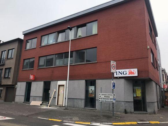 De herstellingen aan het ING-kantoor in Kortenberg zijn bijna klaar.