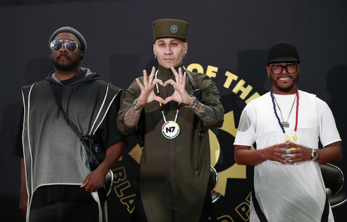 Rappers Will.i.am, Taboo en Apl.de.ap: samen de Black Eyed Peas.