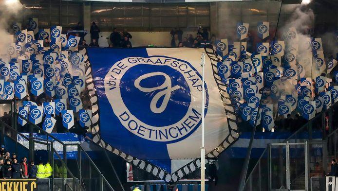 Fans van De Graafschap.