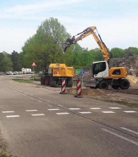 Nieuwe fietspad en verlegde Horst in Kaatsheuvel vanaf 1 mei open
