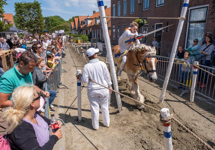 Archiefbeeld: ringrijden in Oostkapelle