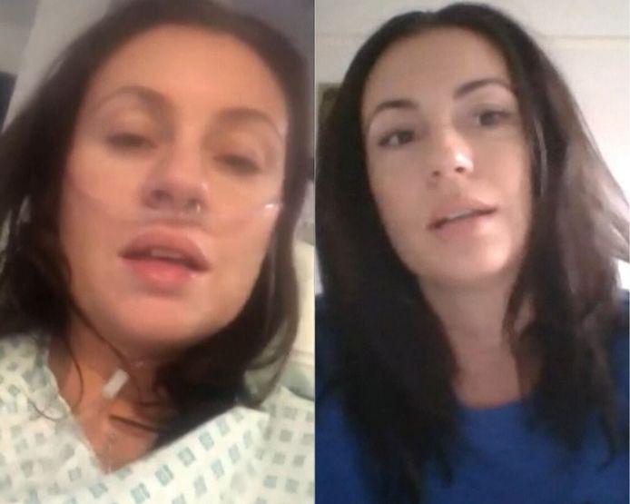 Tara Jane Langston, 39 ans, parle de sa guérison au covid-19.