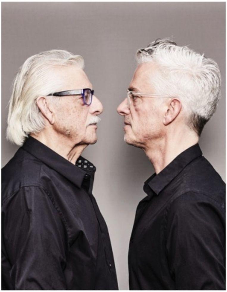 Jan en Jeroen Siebelink. Beeld Oof Verschuren