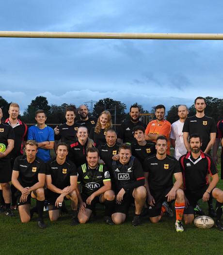 Debuut rugbyers Black Bulls groot succes