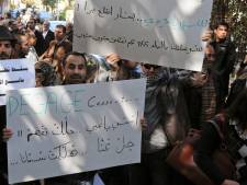 Des dizaines de Syriens manifestent à Damas pour la liberté