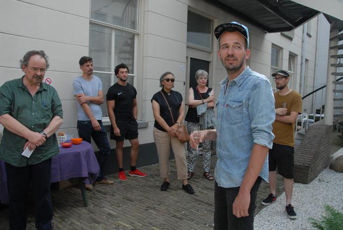 De Bossche kunstenaar Klaas Burger, de 'schepper' van de Single Saint.