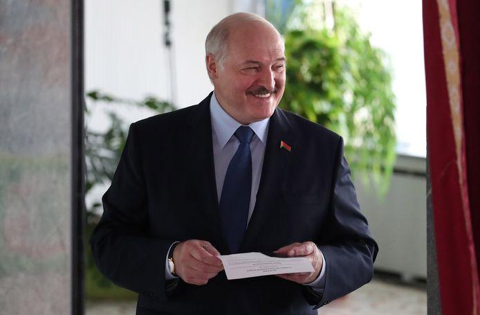 Alexandre Loukachenko, président du Bélarus.