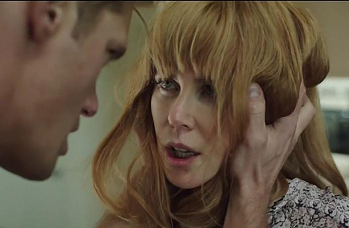 Alexander Skarsgard en Nicole Kidman in Big Little Lies.