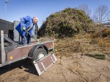 Megadrukte op vuilstort Almelo door 'coronaschoonmaak'