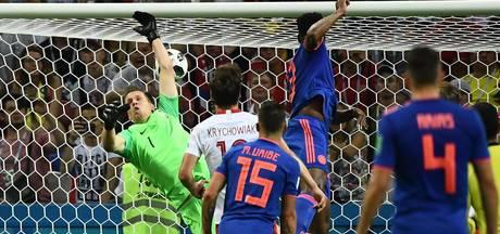 LIVE: Colombia breekt duel open met ingestudeerde corner