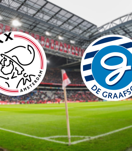 LIVE | Ajax begonnen tegen hekkensluiter De Graafschap
