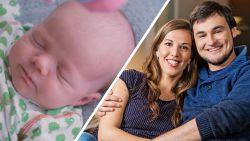 Nicolas en Evelien, uit Blind Getrouwd,  maken zich klaar voor de babyborrel
