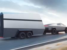 Tesla onthult aanhanger voor Cybertruck