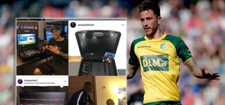 Fortuna-verdediger Heerings doet zaken met Messi en Verstappen