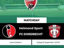 Eerste uitzege voor FC Dordrecht sinds een jaar