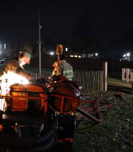 Brand in appartement op terrein Leger des Heils in Lunteren