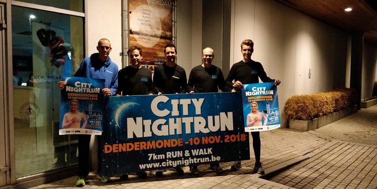 De organisatoren van Maspoe gaan voor een eerste editie van de City Night Run in Dendermonde.