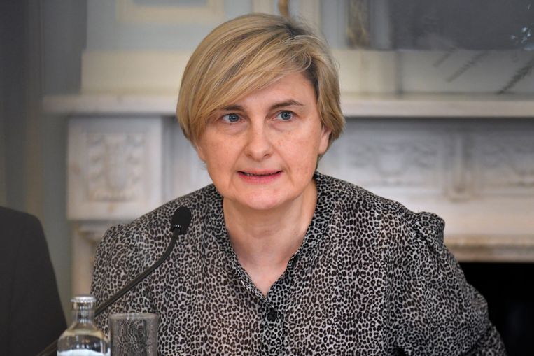 Vlaams minister van Werk Hilde Crevits.