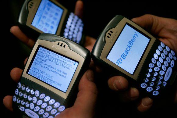 Het design van de BlackBerry bleef jarenlang onveranderd: een bijna vierkant toestel met een groot scherm en kleine toetsjes.