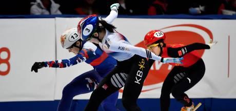 Zilver voor relayvrouwen op WK shorttrack, mannen vierde
