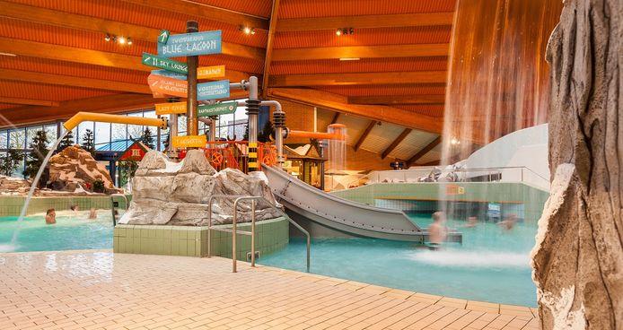 Indoorzwemparadijs De Scheg gaat na maanden van sluiting door corona weer open.