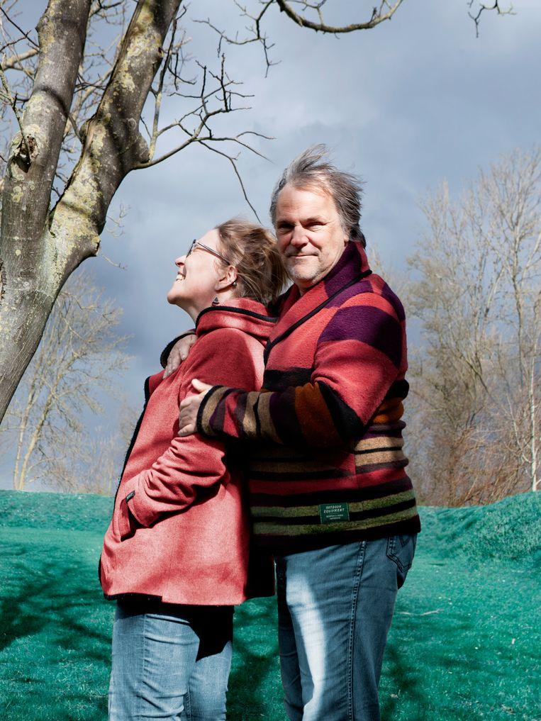 Hans Spekman en zijn vrouw Muriël. Beeld Anouk van Kalmthout