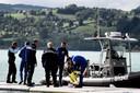 Gisteren braken duikers hun speurtocht af in Aiguebelette-le-Lac.