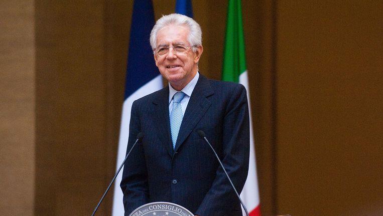 Mario Monti Beeld getty