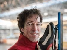 Eric de Ruijter en Maura Swinkels met 'olympisch goud' omhangen op WK schaatsen voor masters