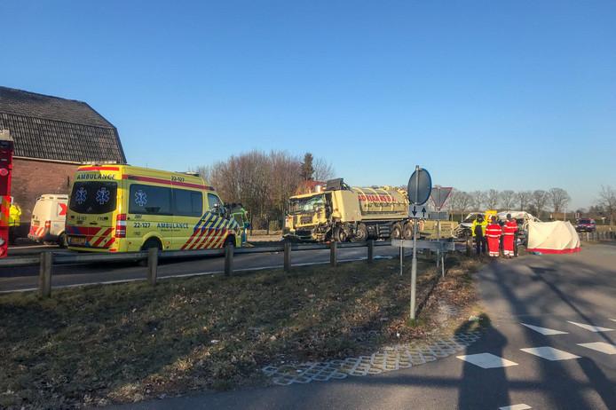 Zwaar ongeval op N270 in Helmond.