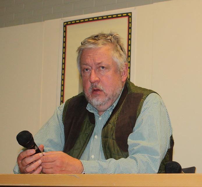 De  Zweedse criminoloog Leif G.W. Persson: 'Het duurde maar een paar minuten'.