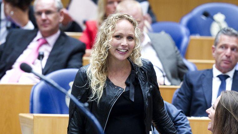 Sabine Uitslag stelt zich geen kandidaat meer voor het CDA. Beeld