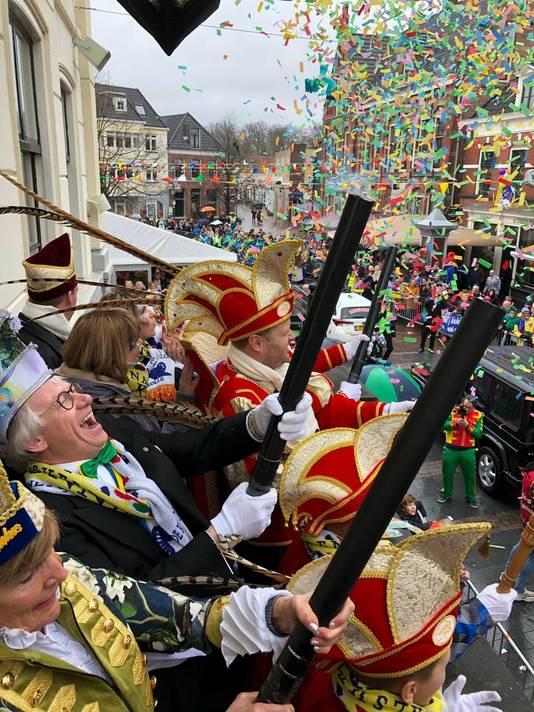 John Berends vierde in maart carnaval in de regio.