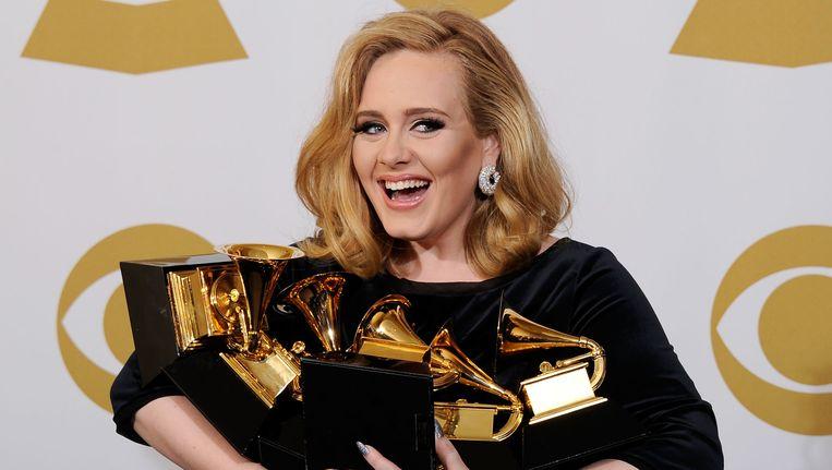 Adele. Beeld getty