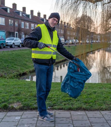 Alblasserdammer (60) wil heel zijn dorp opruimen: 'Heel het dorp moet schoon'