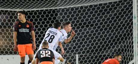 Europese afgang in Oostenrijk volgende klap voor dolend PSV