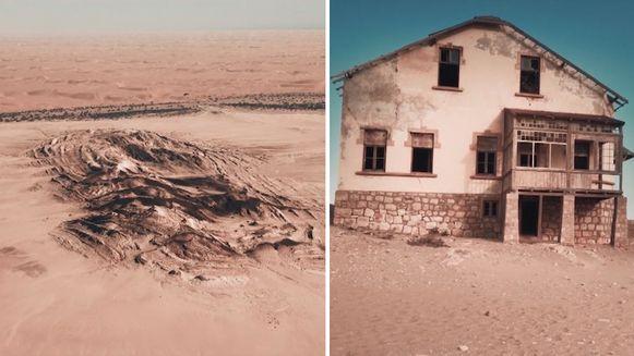 Woestijndorp Kolmanskop, Namibië
