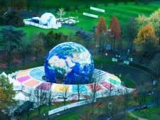 Climate Planet brengt tientallen meters grote wereldbol naar Jaarbeursplein