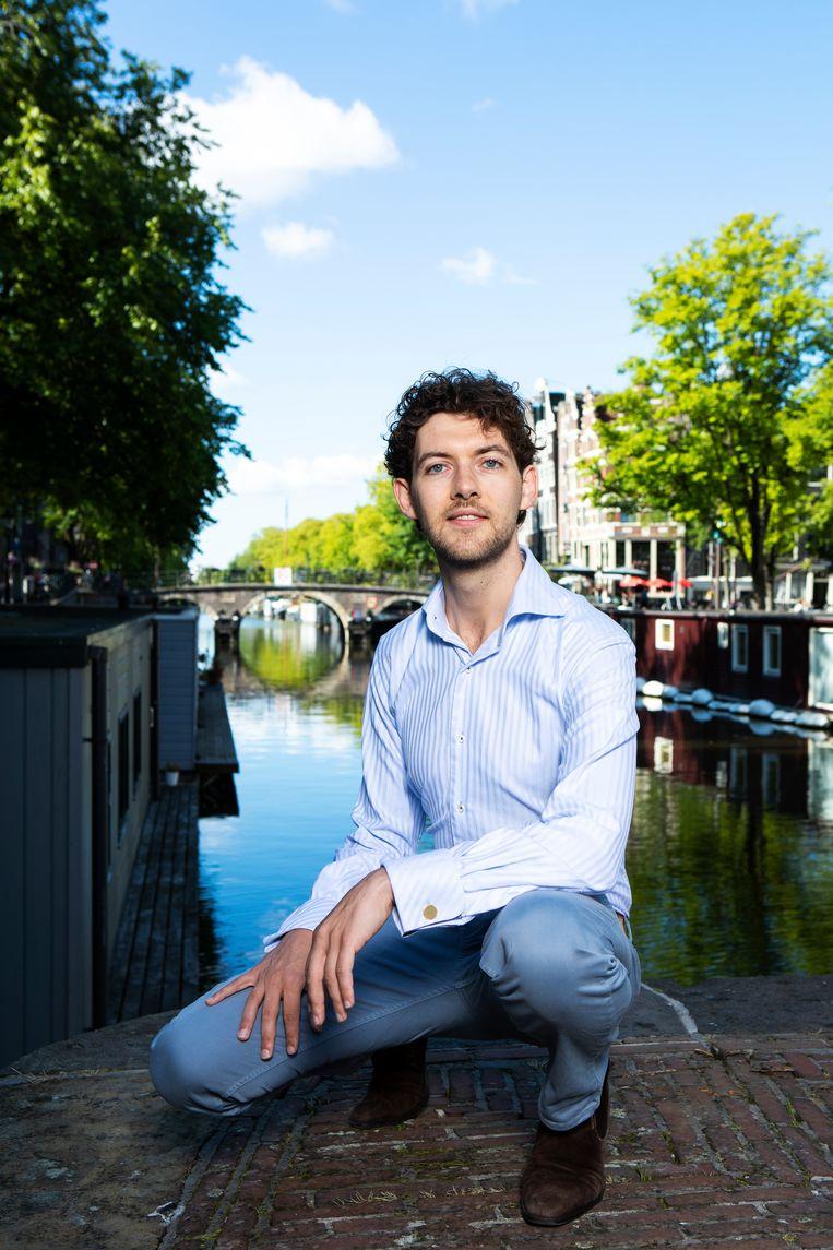 Daan Boertien: 'Een zanger en een pianist op een podium, dat is zo naakt en kwetsbaar. Dat is iets heel moois.'  Beeld Martijn Gijsbertsen