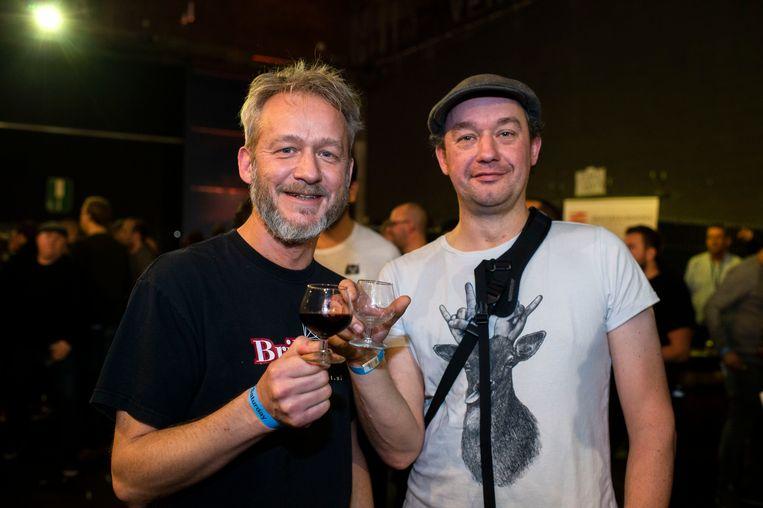 Rob en Leon uit Haarlem noemen zichzelf bier-nerds.