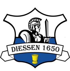 Het logo van de stichting Diessen 1650