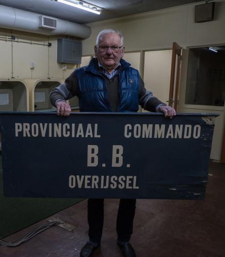 Grootste atoomvrije bunker ligt verborgen in Holten en Gerrit woont er samen met Rita bovenop